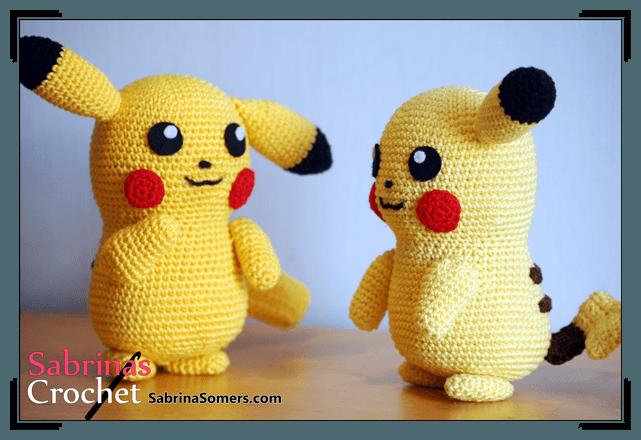 Pikachu Pokemon Patrn Gratis Amigurumi Muecos Tejidos
