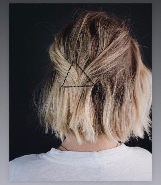 Medium Length Hair Can Be Worn Like This Bob Frisur Frisuren Haarschonheit