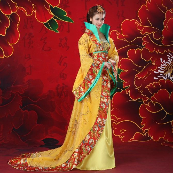 Free Shipping New Chinese Ancient Traditional Queen Dramaturgic Costume Robe Dress!!! Free Shipping---Dr0041 #Affiliate
