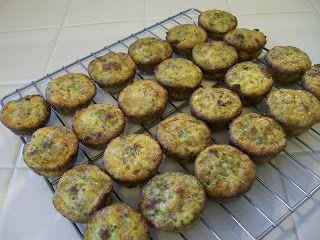 Beef And broccoli mini muffins