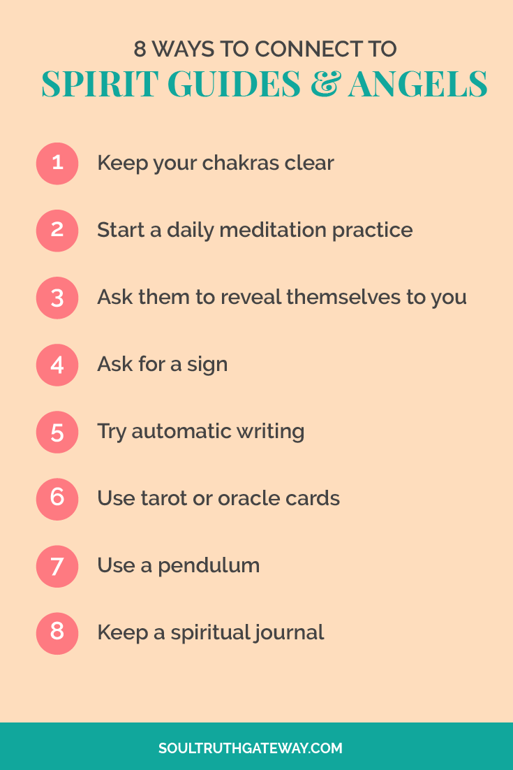 8 Ways To Connect With Spirit Guides and Angels   Spirit ...
