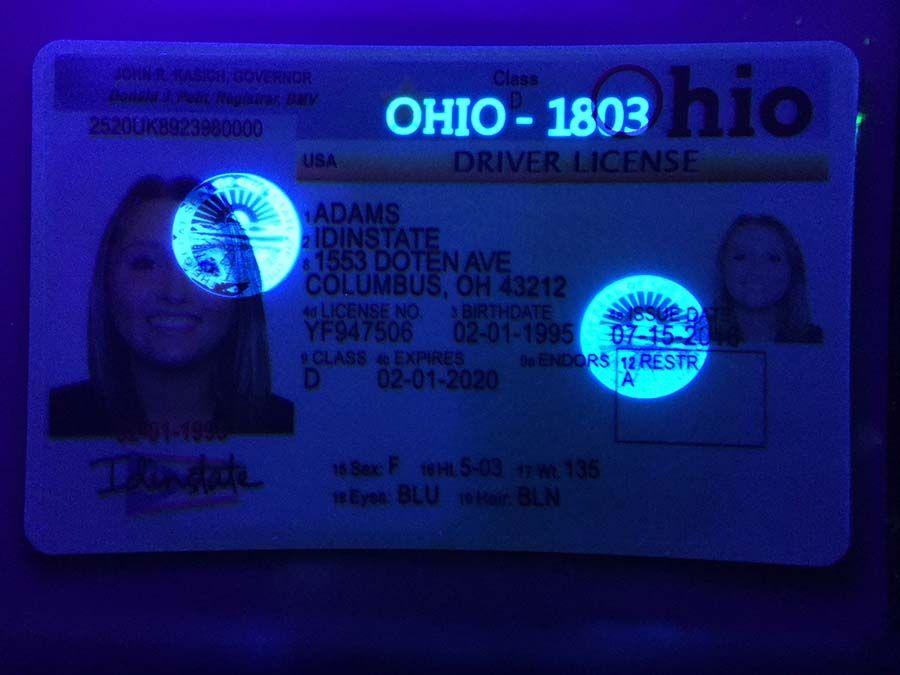 Download Ohio Fake Driver License Id Card Template Fake Id Template Editable Psd Drivers License Id Card Template Free Printable Certificate Templates