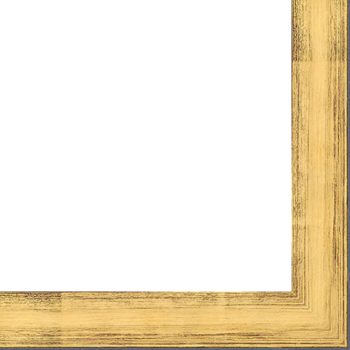 Picture Frame Moulding Wood 18ft Bundle Contemporary Gold Finish