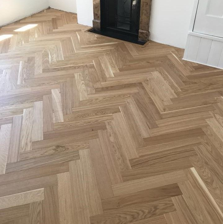 Parador Trendtime 3 Oak Natural Oil Herringbone Parquet
