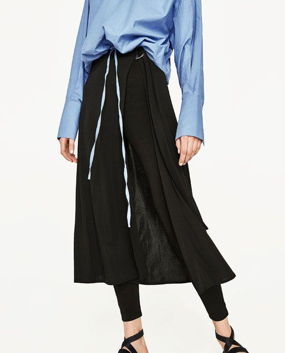 12cc5631dd Image 2 of SKIRT WITH LEGGINGS from Zara | WL | Pinterest | Fashion