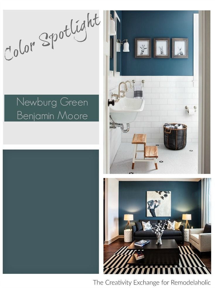 Color Spotlight Benjamin Moore Newburg Green