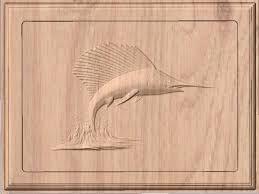Resultado de imagen para tallado de peces en madera