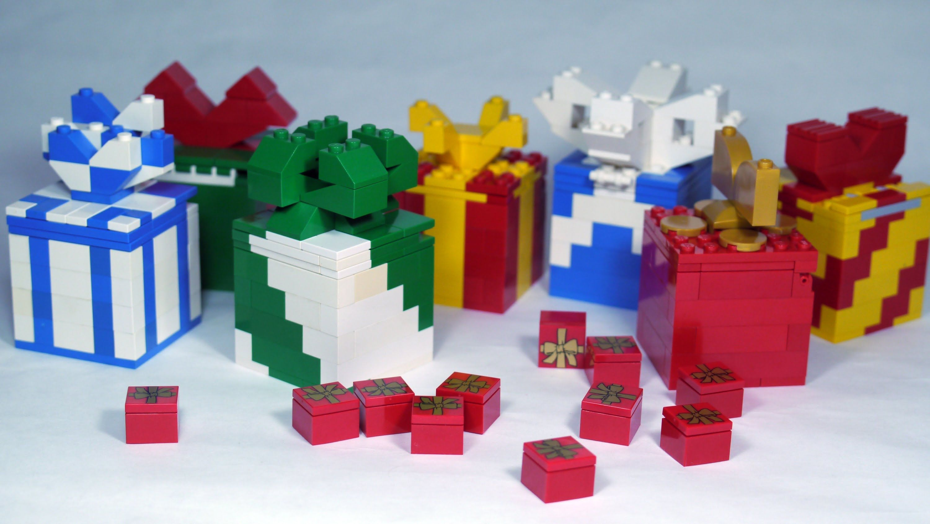 how to make a lego birthday present