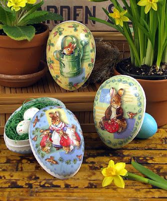 beatrix potter easter | Beatrix Potter Easter Eggs + Video . . .