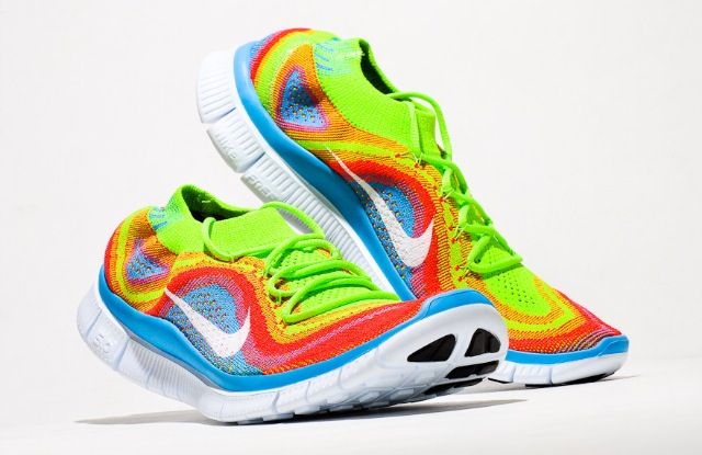Tiffany blue · Nike Free Flyknit 5.0 - Multicolor