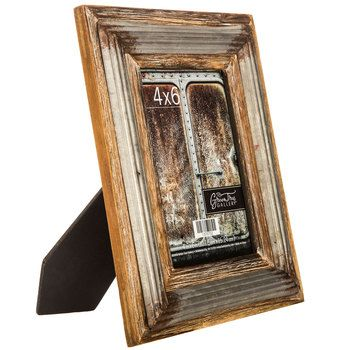 hobby lobby wood frame with metal fillet x - Wooden Frames Hobby Lobby