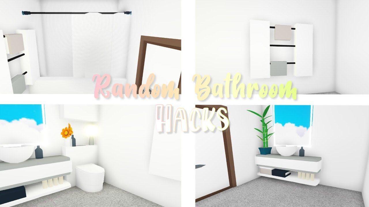 Random Bathroom Hacks Roblox Adopt Me Youtube Bathroom Hacks Cute Room Ideas Roblox Bathroom ideas adopt me