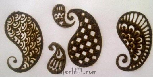 Mehndi Step By Step Tutorial : Simple mehndi design tutorial for hands life chilli