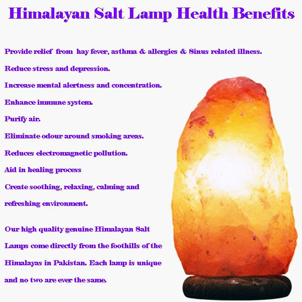 Himalayan Salt Lamp With Timber Base Medium Au 27 23