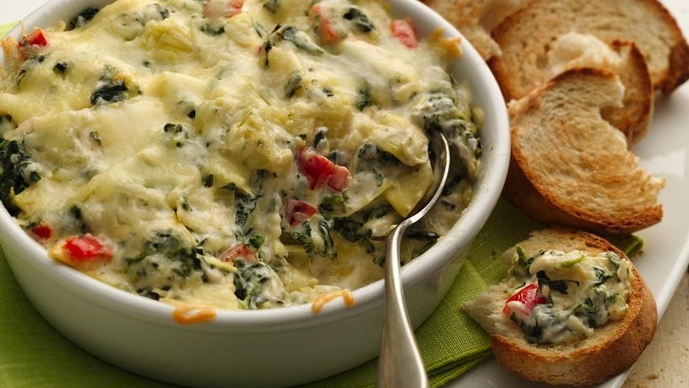 Wow your friends with an easy but elegant hot dip you can make ahead.