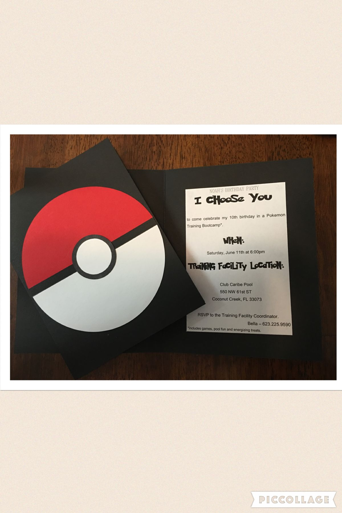 Invitation for a pokemonparty when my son decided that his 10th invitation for a pokemonparty when my son decided that his 10th birthday party theme was stopboris Images