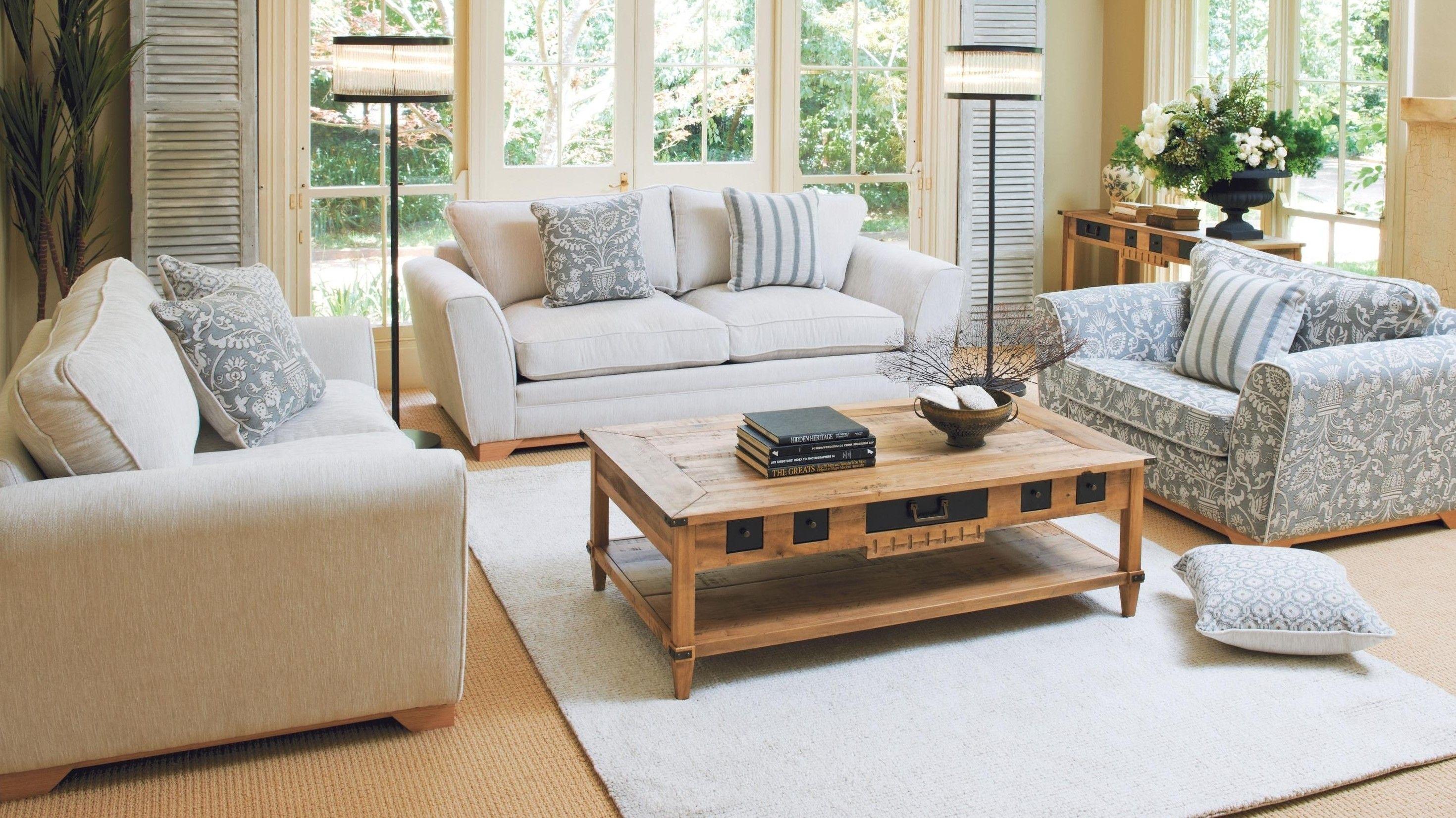 Sloane 2.5 Seater Fabric Sofa - Harvey Norman