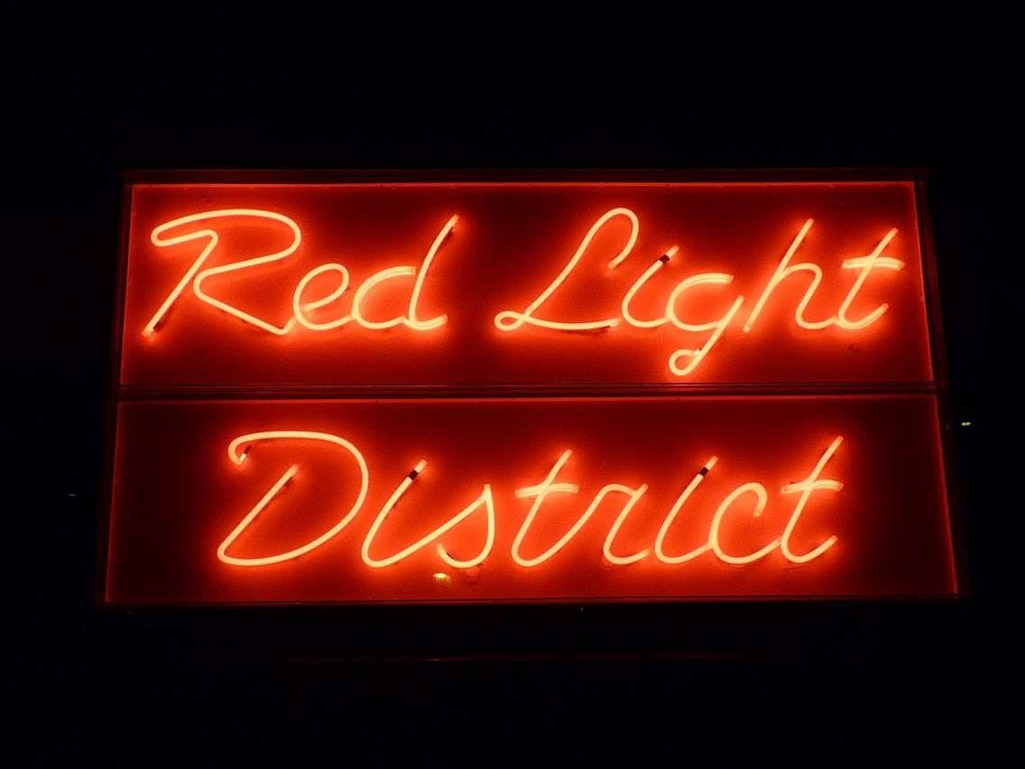 Rotulo De Neon Rojo Cartel Neon Neon Y Rotulos Luminosos