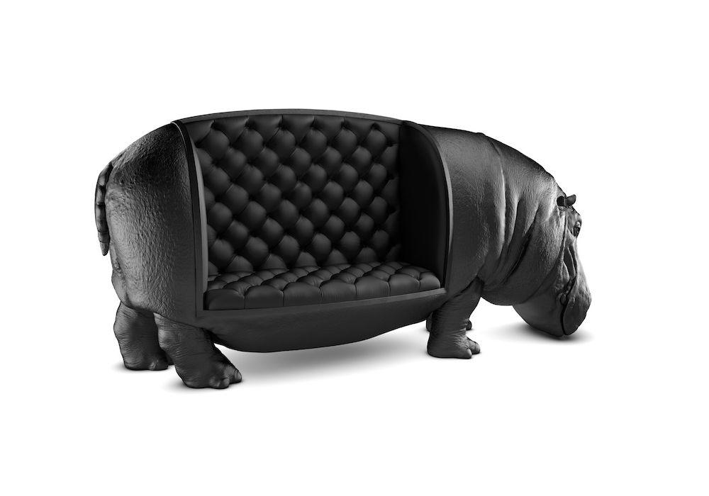 Fauteuil hippopotamus maximo riera for the home pinterest fauteuil mobilier de salon et - Fauteuil original salon ...