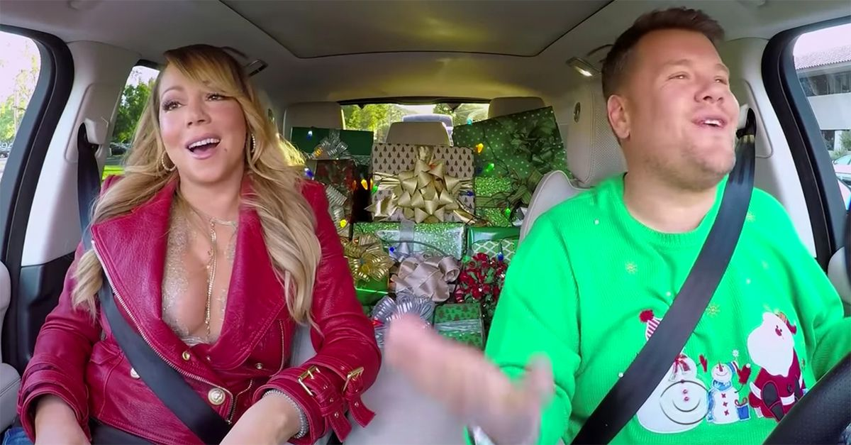 Mariah Carey Gives Us All We Want For Christmas By Joining James Cordon For A Special Carpool Karaoke Carpool Karaoke Mariah Carey Christmas Carpool Karaoke
