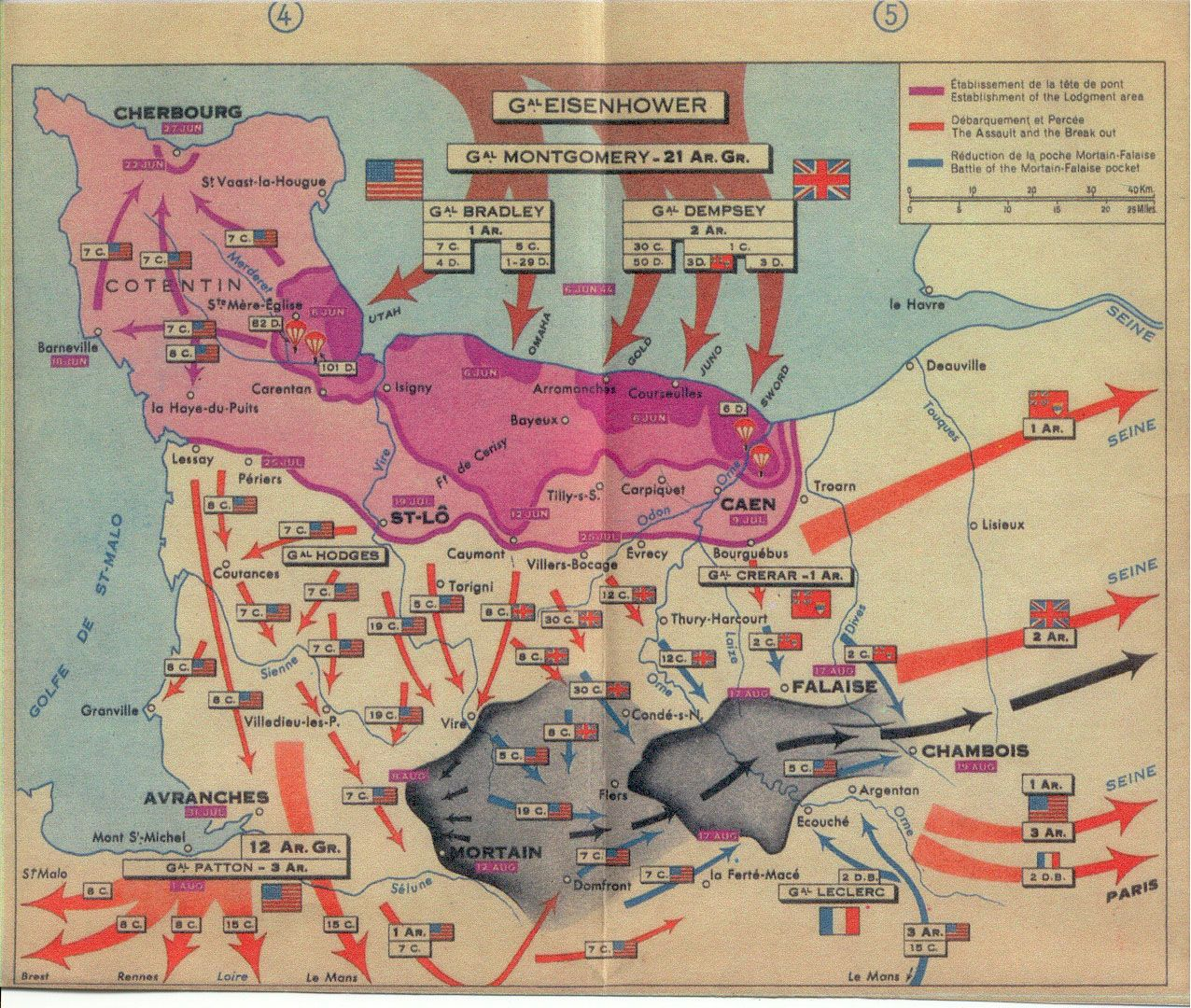 The story of DDay in five maps  Normandy Normandy invasion and