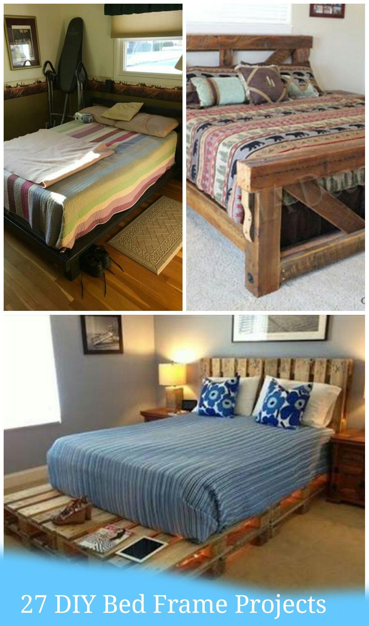 25 diy bed frame projects diy bed frame bed frame