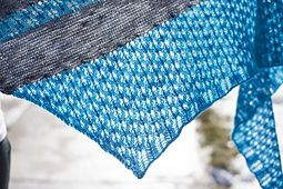 Ravelry: Oceanbound pattern #lace #shawl by Melanie Berg
