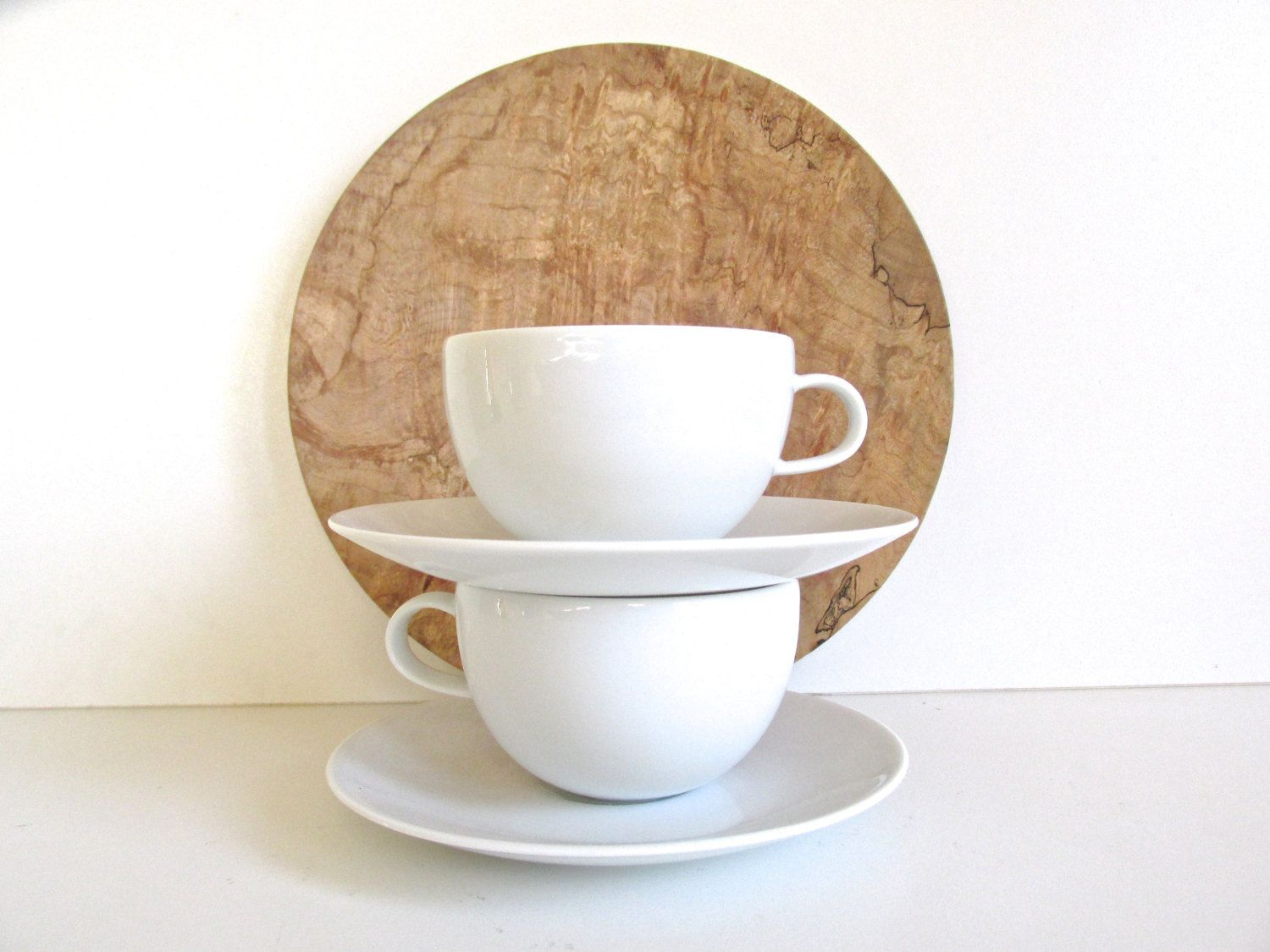 Set of 2 post modern studio nova tivoli white cup and saucers set of 2 post modern studio nova tivoli white cup and saucers minimalist espresso cup reviewsmspy