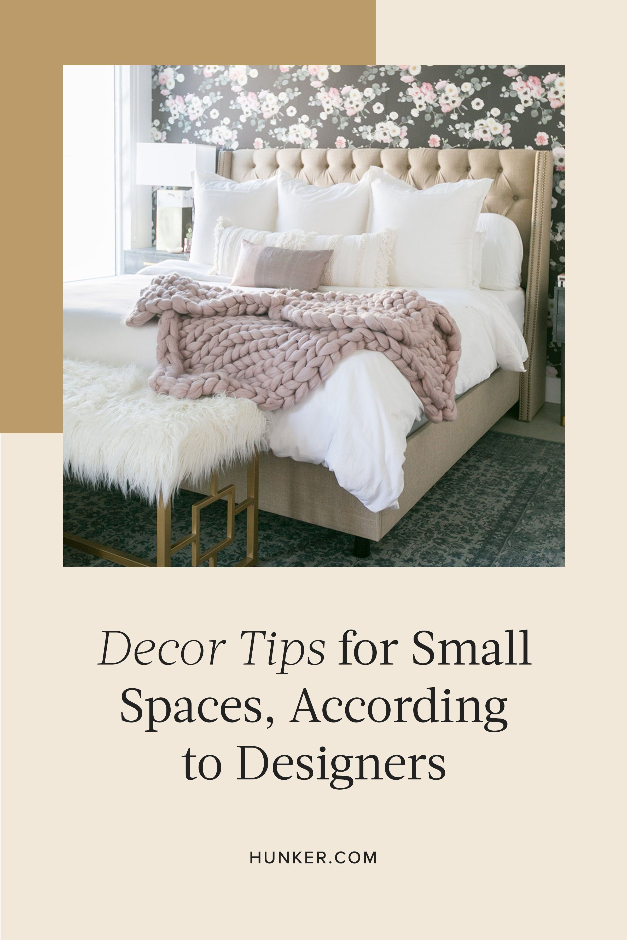 We caught up with a few of our favorite (and heavily re-pinned) Decorist designers to ask them to spill their secrets for creating a high-design vibe with a low-impact footprint. #hunkerhome #decor #homedecor #decortips #decorideas