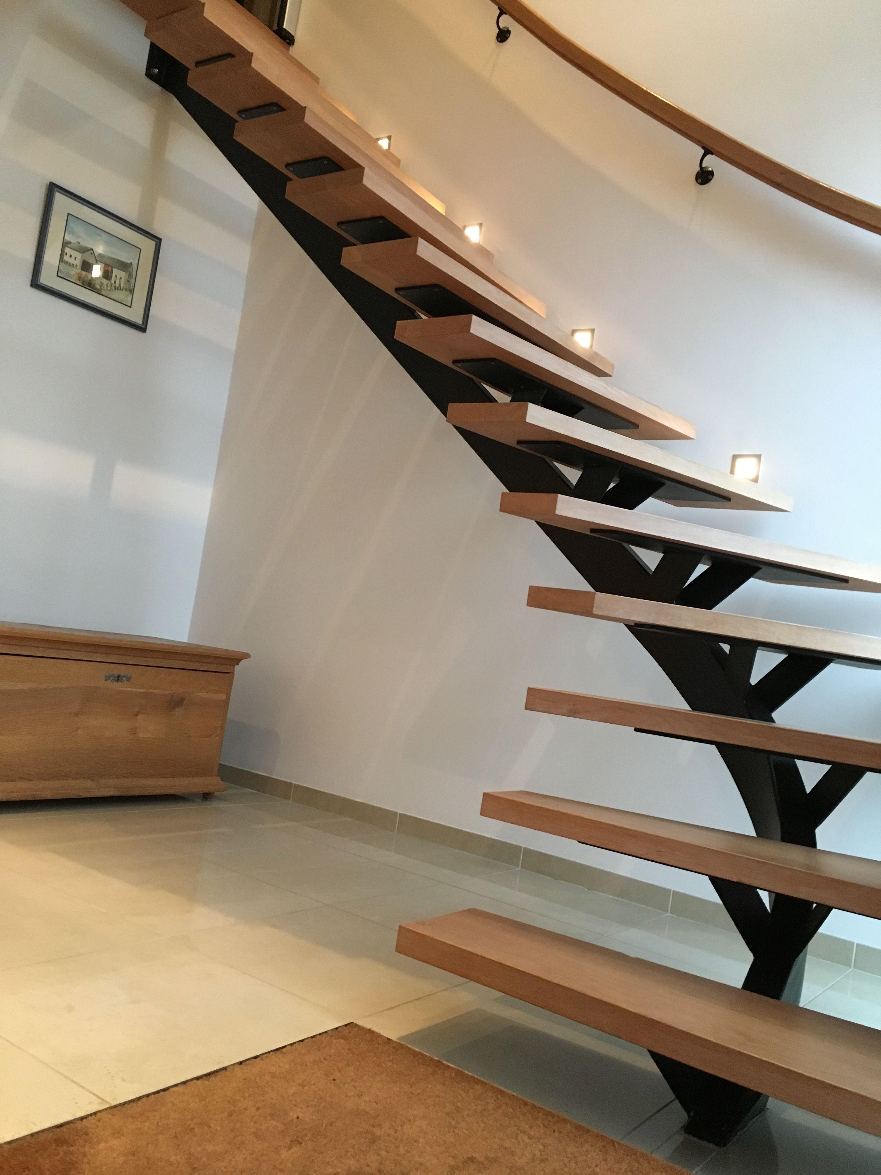 Escalier Metal Et Bois Realisation Atelier Degueldre Nos Escaliers