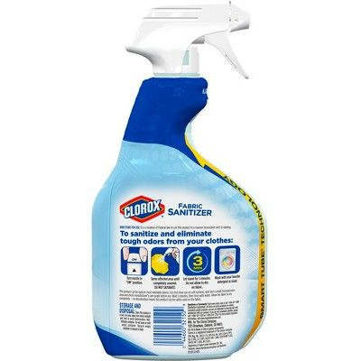 Clorox Bleach Free Fabric Sanitizer 24 Oz Clorox Bleach