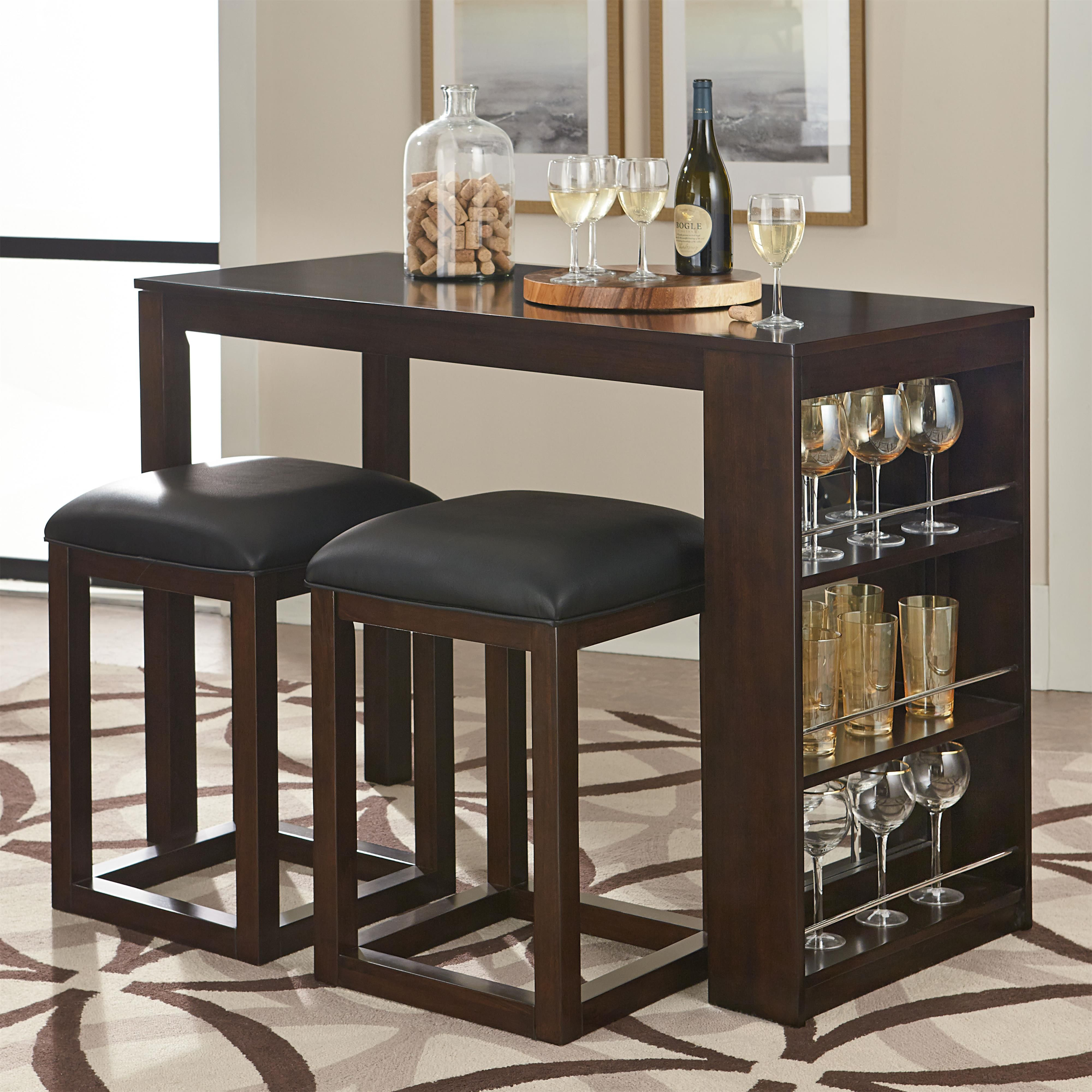 Porter 3 piece pub table and stool set by standard furniture porter 3 piece pub table and stool set by standard furniture watchthetrailerfo