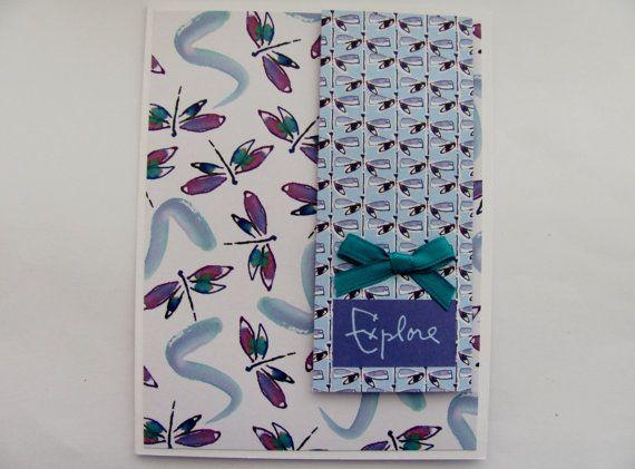 Handmade Greeting Card Blank Inside by SassyScrapsCrafts on Etsy, $3.50