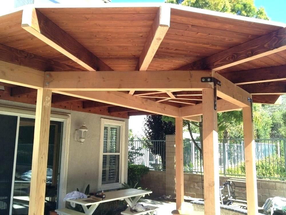 Covered Patio How To Build A Cover Inspirational Elegant