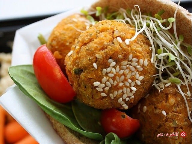 طرز تهیه فلافل با نکات دونفره Recipe Vegan Main Dishes Food Vegan Foods