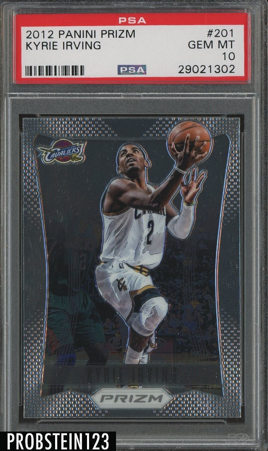 2012 13 Panini Prizm 201 Kyrie Irving Cleveland Cavaliers Rc Rookie Psa 10 Psa10 Basketball Cards Kyrie Irving Kyrie