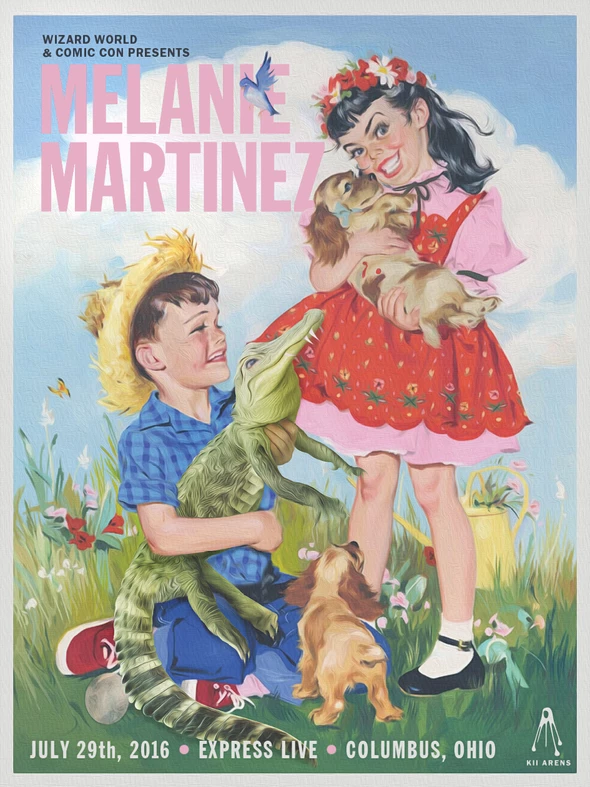 "014 Melanie Martinez K12 Beauty Singer Star 14/""x16/"" Poster"