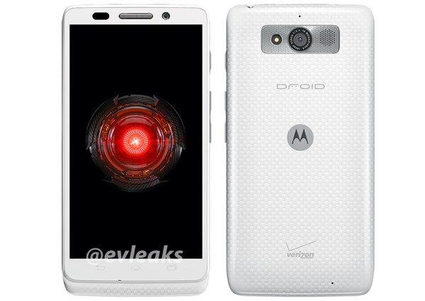 Verizon Motorola Droid Mini white Christmas with new color