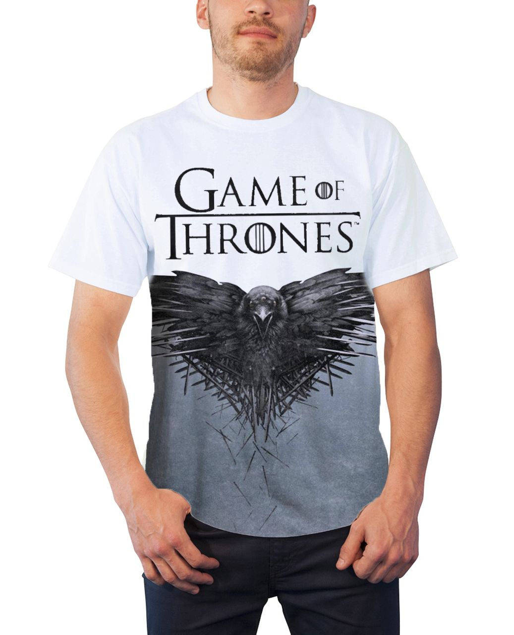 Adult Red TV Show GOT Game of Thrones House Lannister Lion Logo T-Shirt Tee