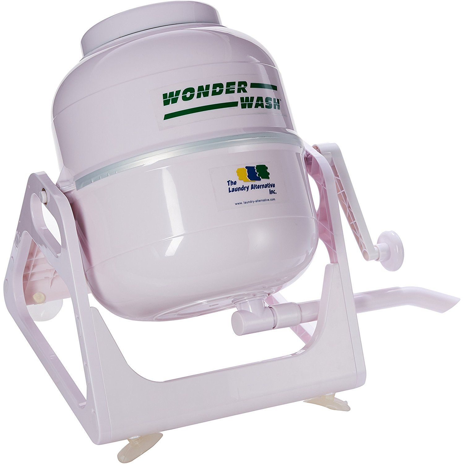 The Laundry Alternative Wonderwash Non Electric Portable Washing Machine