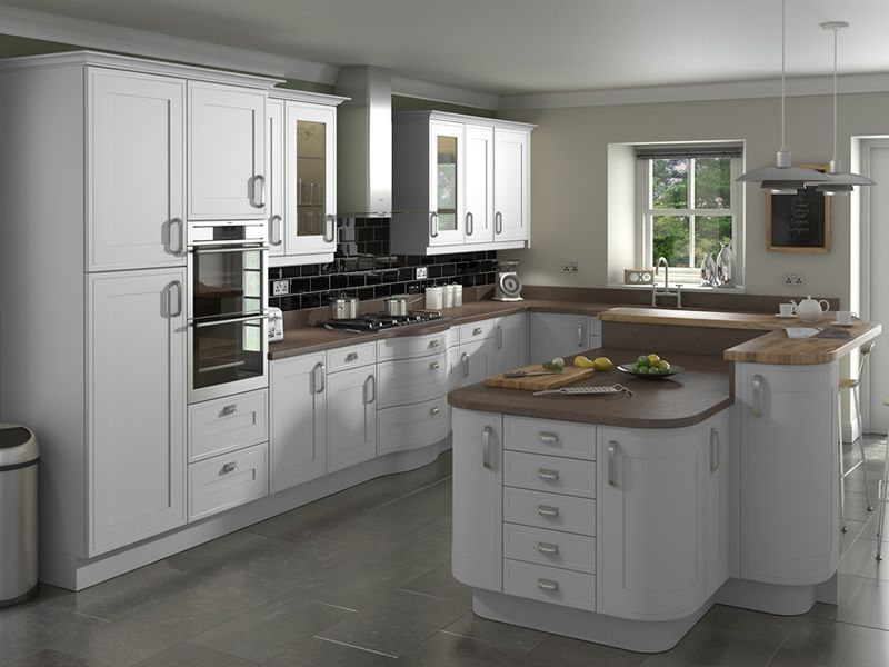 Shelley Light Grey Kitchens Buy Shelley Light Grey Kitchen Units - Light grey kitchen doors