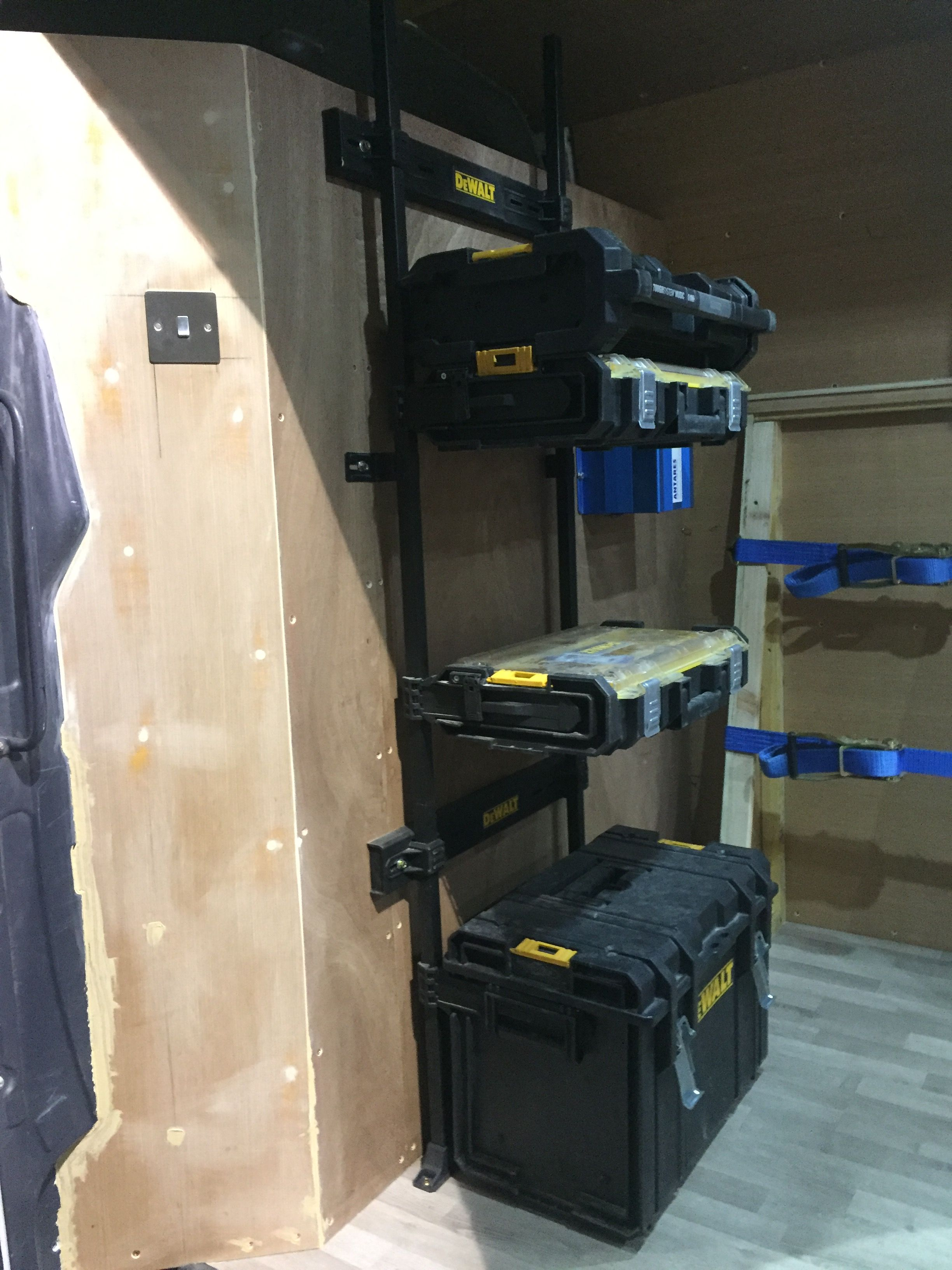 Pin by John Gallacher on Van racking (With images) | Work ...