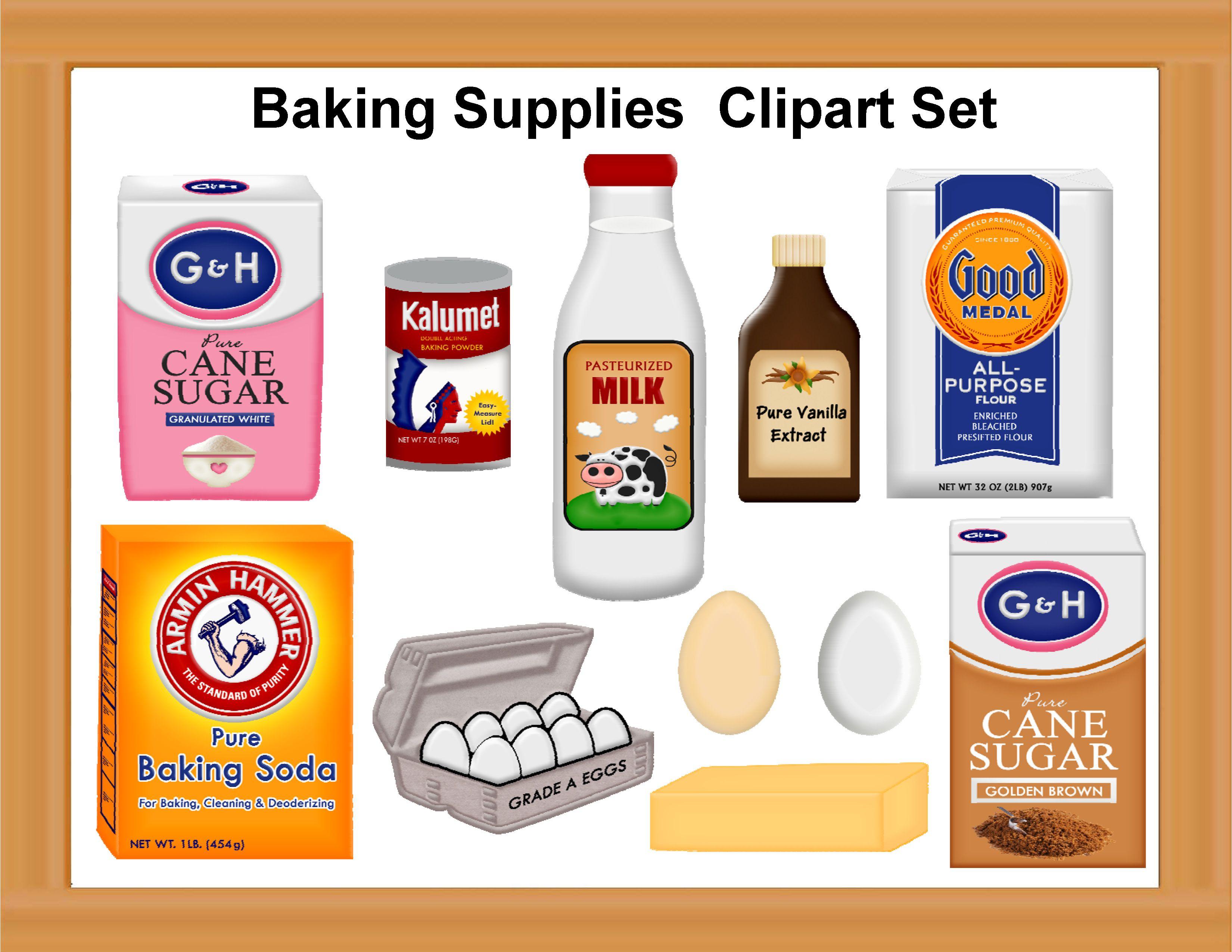 Baking Ingredients Clipart cake ingredient...