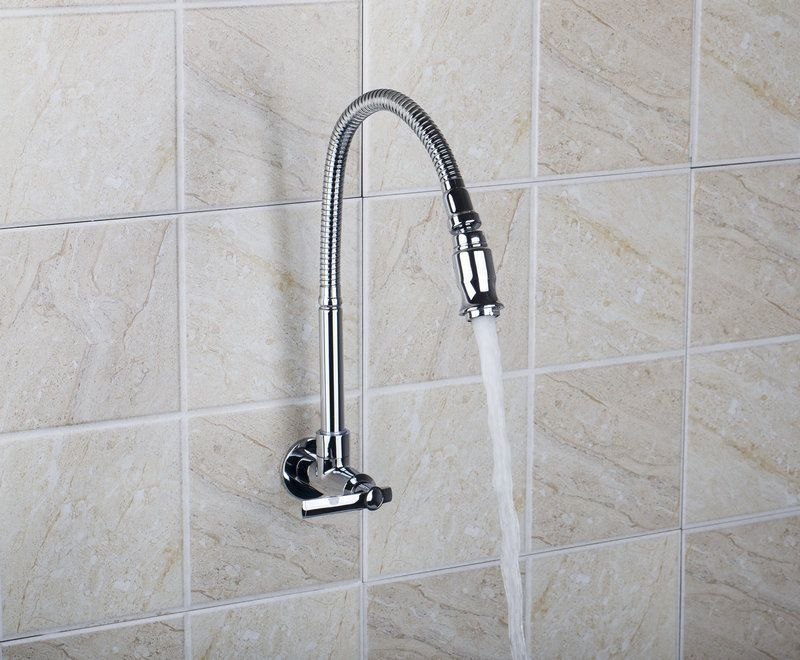 e_pak Free Shipping SQ8551-4 In Wall Mounted Brass Kitchen Faucet ...