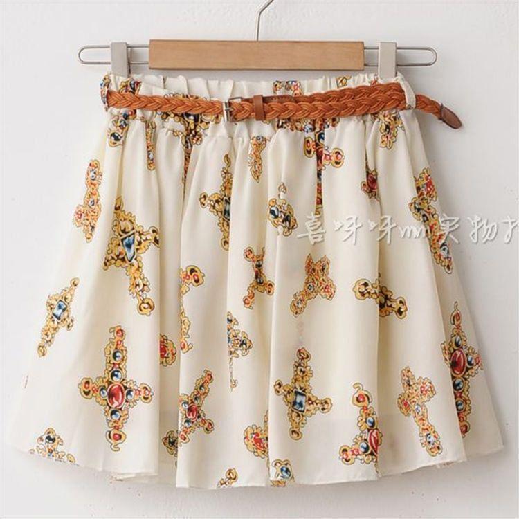 Skirt Saia Casual