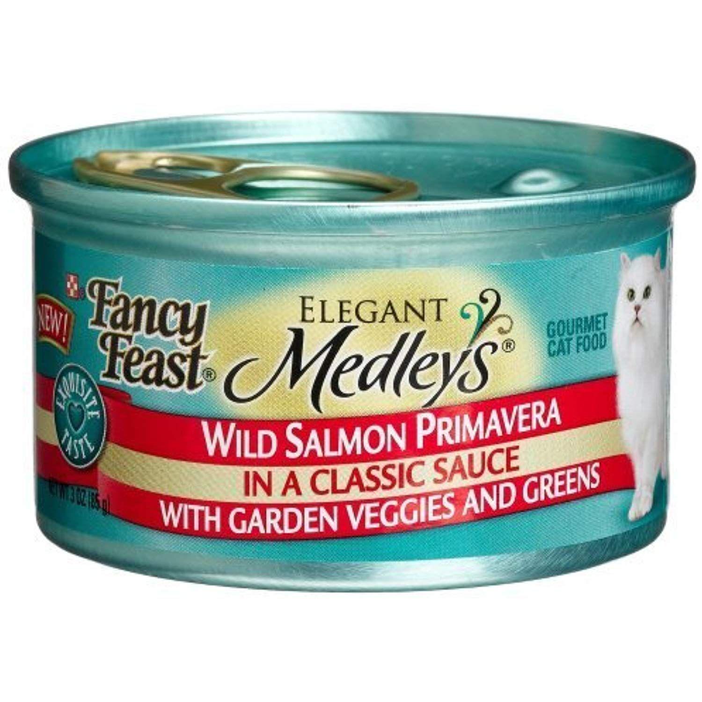 Fancy Feast Elegant Medleys for Cats, Wild Salmon