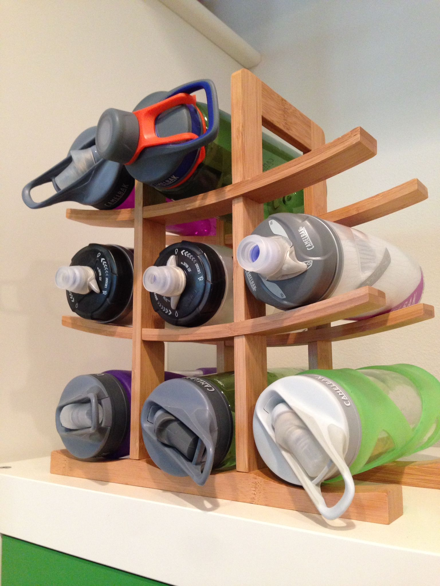 Looking For A Tidy Way To Stash Your Camelbak Bottles