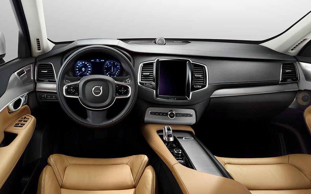 Volvo Xc90 T8 Twin Engine Interior Electric Hybrid Vehicles