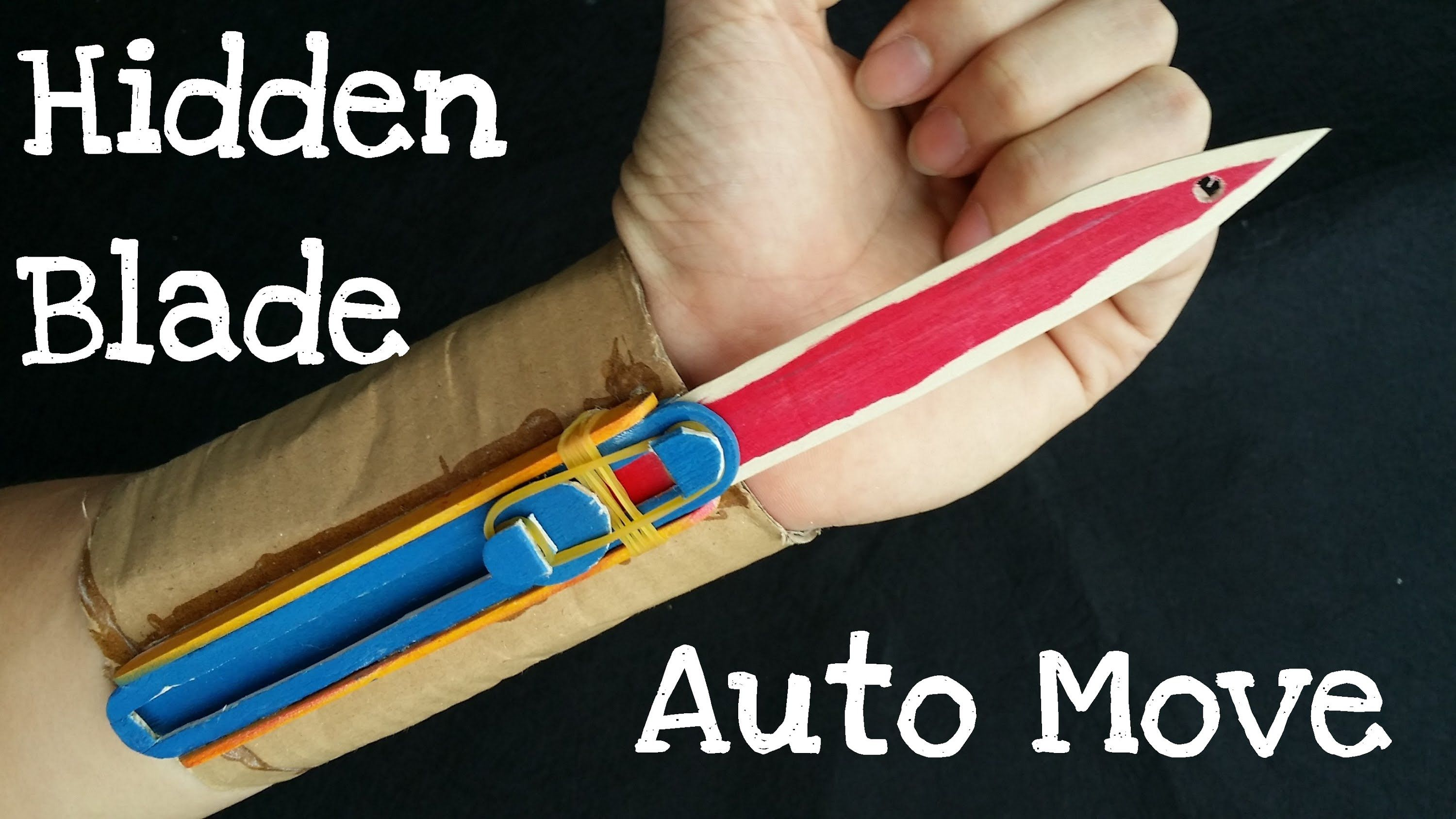 How to make the Full Automatic Hidden Blade | Assassin's ... - photo#11