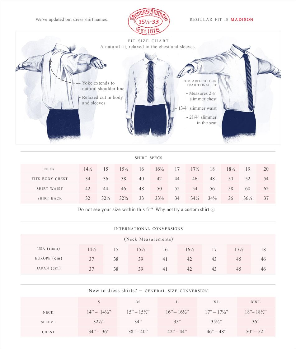 BBrothers - Dress Shirts Regular Fit (Madison) | his shirts ...
